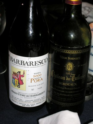 Wine with boar